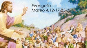 Mateo 4,12-17.23-25