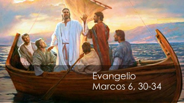 Marcos 6, 30-34