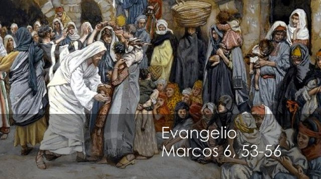 Marcos 6, 53-56