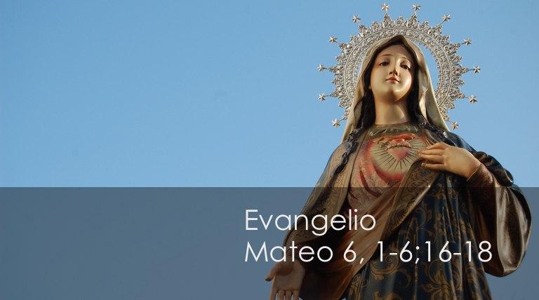 Mateo 6, 1-6;16-18