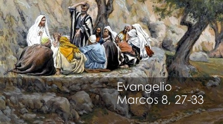 marcos 8, 27-33