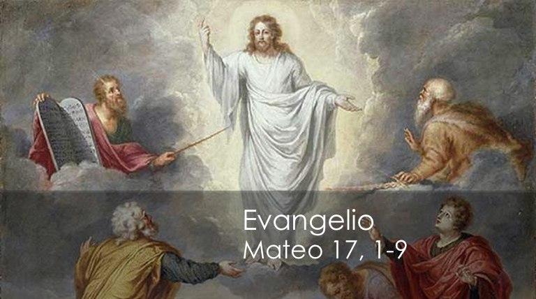 Resultado de imagen para Mateo (17,1-9)