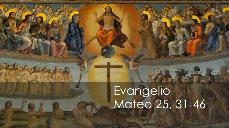 Mateo 25, 31-46