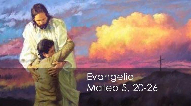 Mateo 5, 20-26