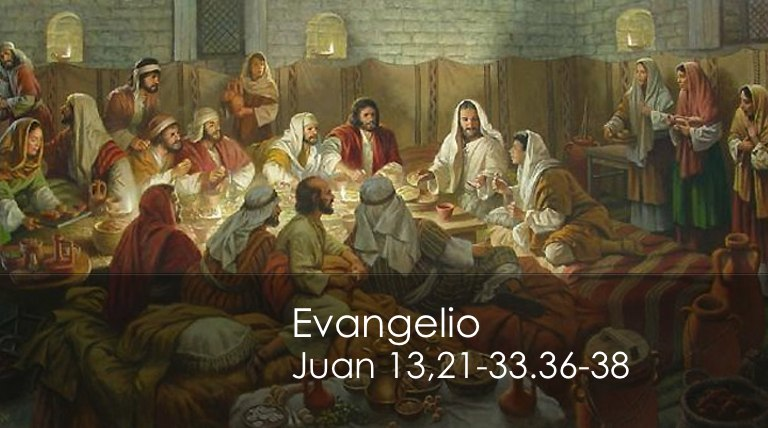 Juan 13,21-33.36-38