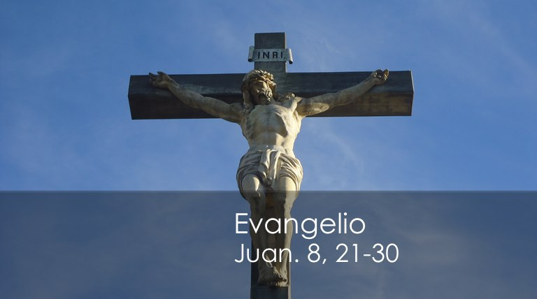 Juan. 8, 21-30