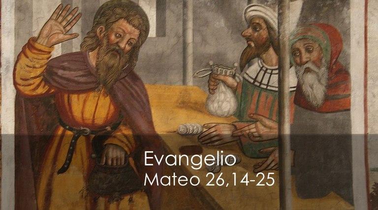 Mateo 26,14-25