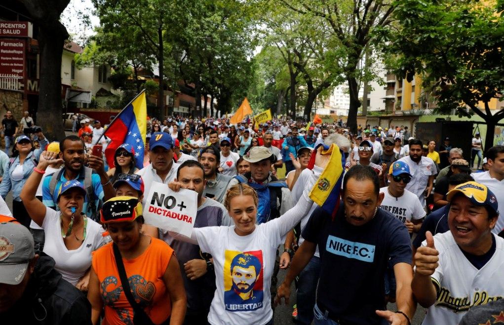 Venezuela lucha por su libertad