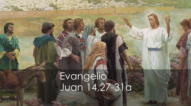 Juan 14,27-31a