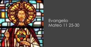 Mateo 11 25-30