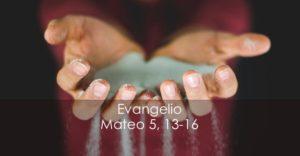 Mateo 5, 13-16
