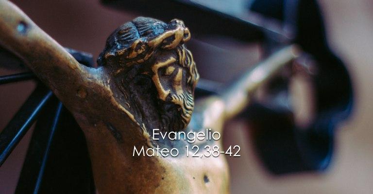 Mateo 12,38-42