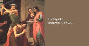 Marcos 6, 17-29
