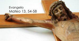 Mateo 13, 54-58