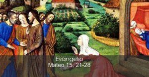 Mateo-15, 21-28