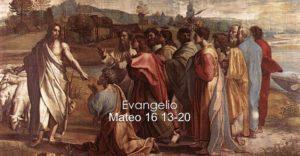 Mateo 16 13-20
