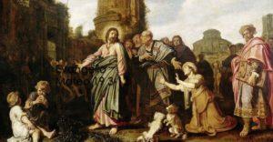 Mateo 19, 13-15
