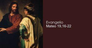 Mateo 19,16-22