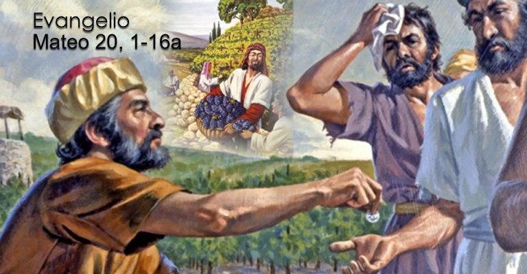 Mateo 20, 1-16a