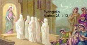 Mateo 25, 1-13