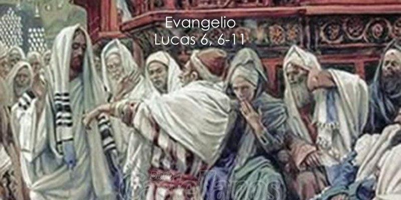 Resultado de imagen de Lc 6,6-11