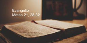 Mateo 21, 28-32
