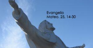 Mateo. 25, 14-30