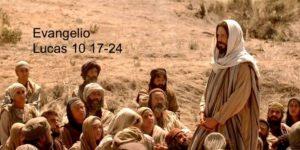 Lucas 10 17-24