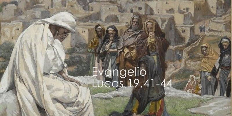 Lucas 19,41-44