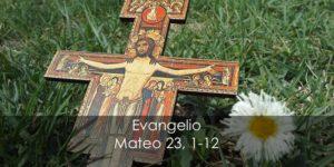 Mateo 23, 1-12