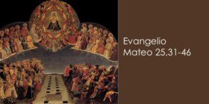 Mateo 25,31-46