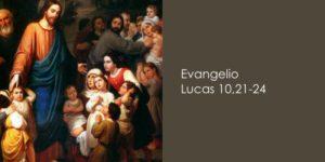 Lucas 10,21-24