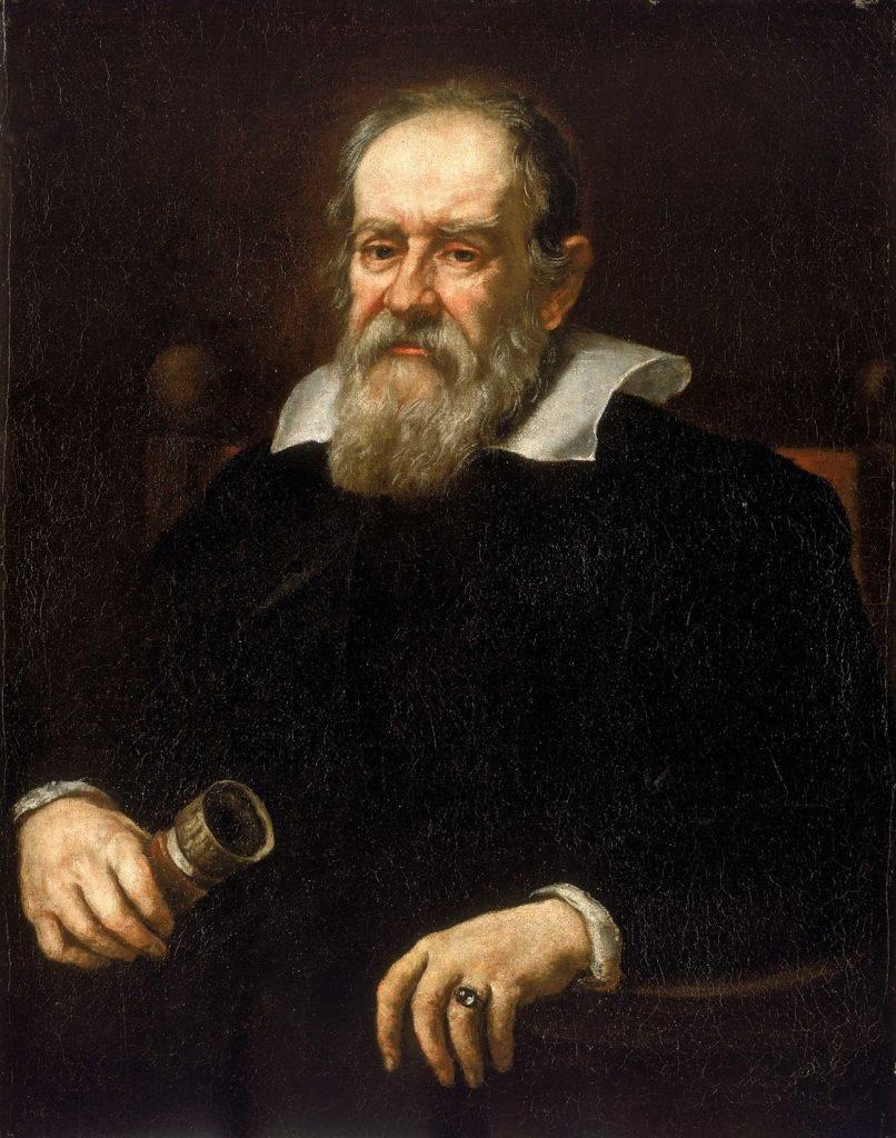 Galileo Galilei, retrato de 1636