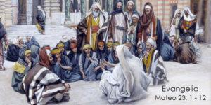 Mateo 23,1-12