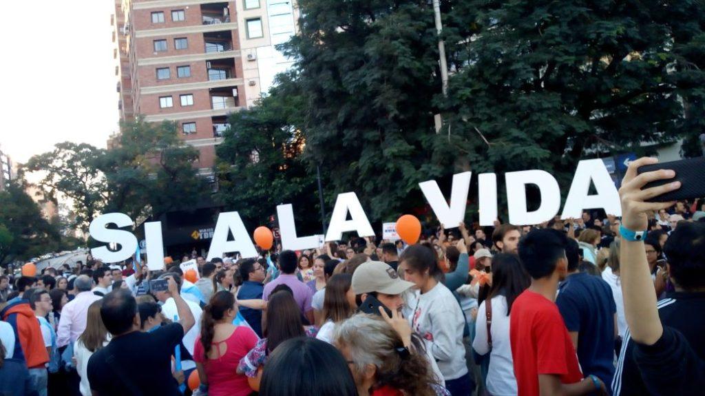 Marcha por la Vida - Cordoba Argentina 25 de marzo 2018