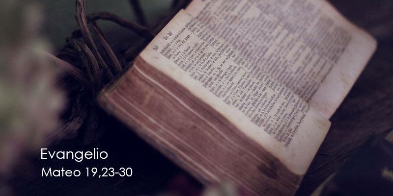 Mateo-19,23-30