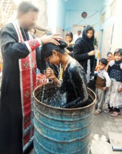 Así fue el bautizo de Kainut / ACN